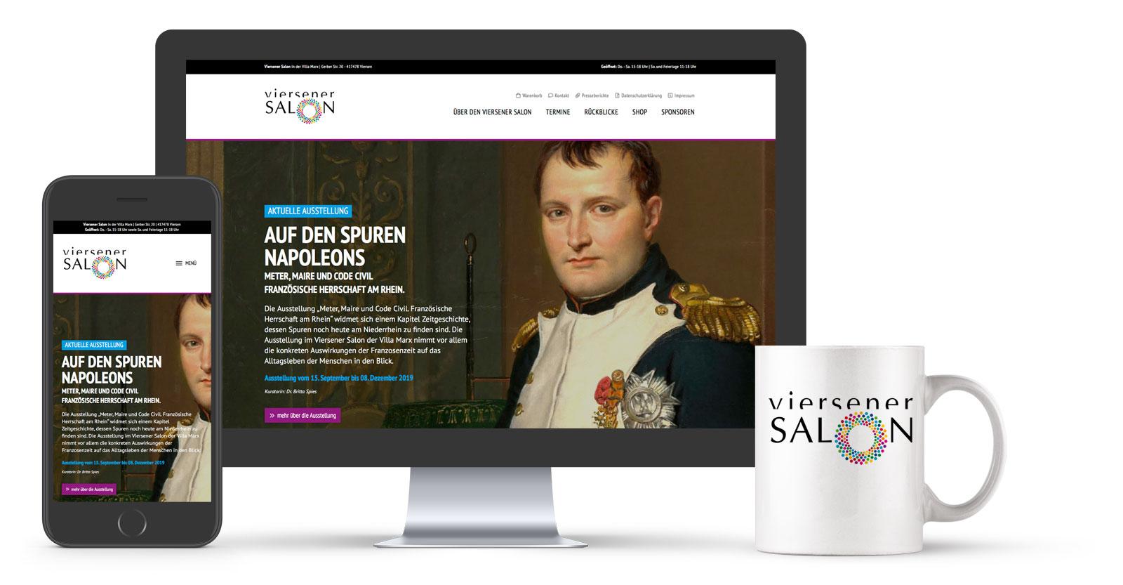 Referenz: Website Relaunch - A. Monforts Textilmaschinen GmbH & Co. KG